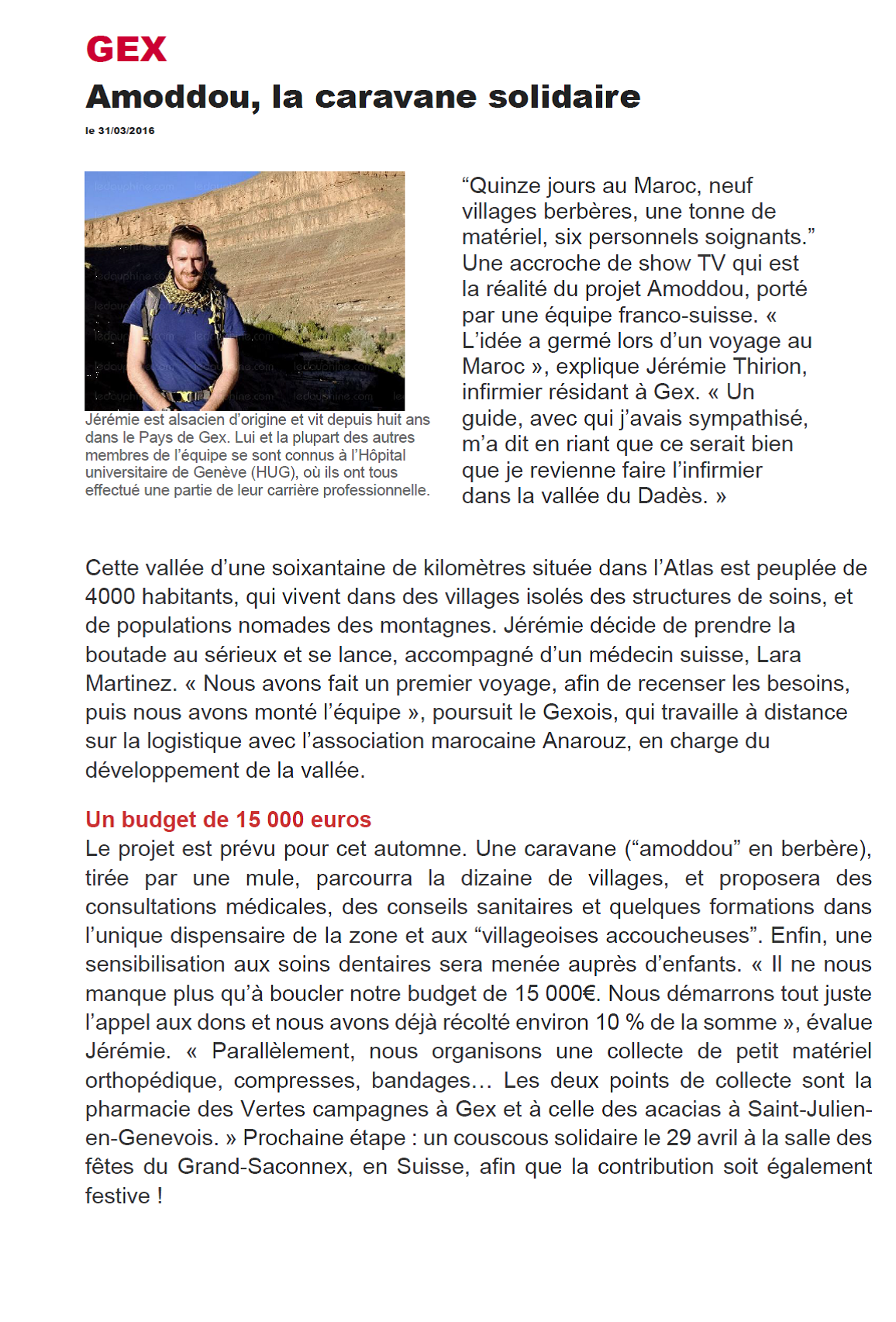 article dauphine